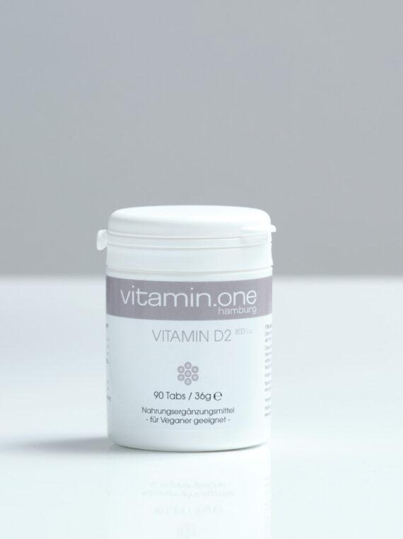 Vitamin D2 800i.u. (vegan)