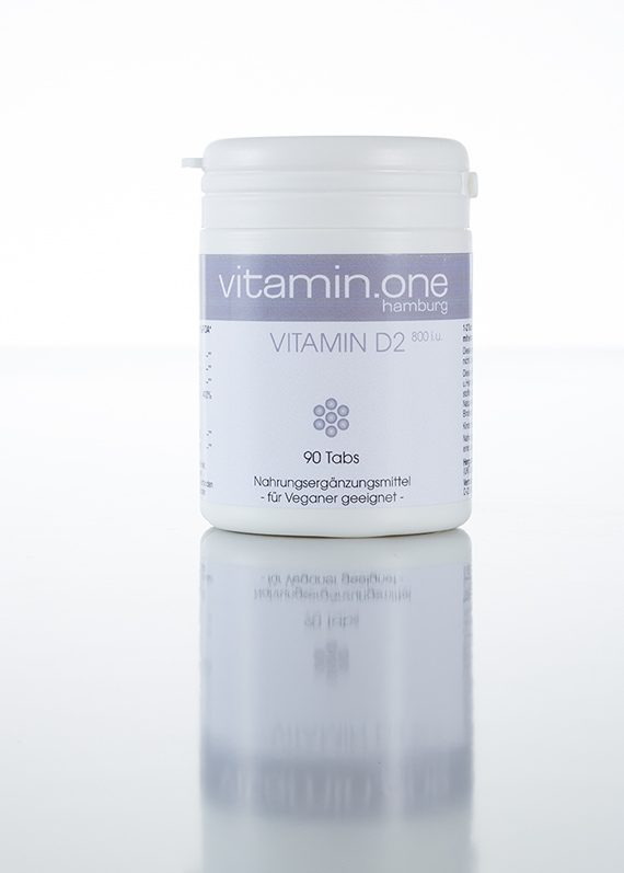 Vitamin D2 800i.u. (vegan)