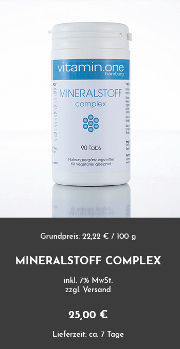 Mineral Complex + pH
